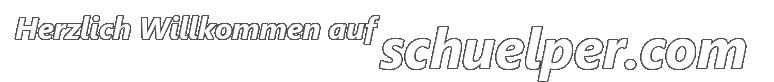 Herzlich Willkommen auf schuelper.com